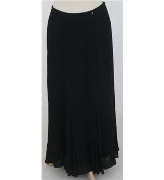 Caroline Charles size S black long skirt