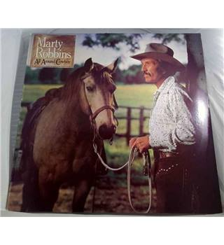 """All Around Cowboy"" LP by Marty Robbins - 83917"