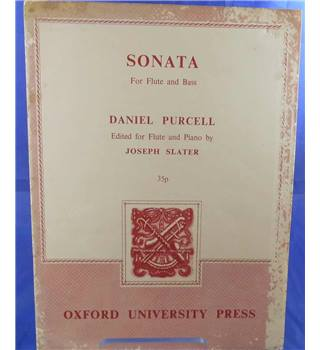 Putcell: Sonata for Flute and Bass - Set for Flute and Piano