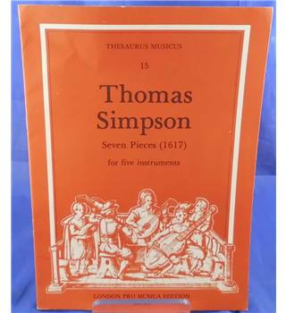 Simpson: Seven Pieces For Five Instruments