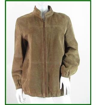 Vintage - St Michael - Size: 14 - Light Brown - 100% Pigskin - Leather jacket