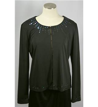 Bhs Top - Black - Size 16 BHS - Size: 16 - Black