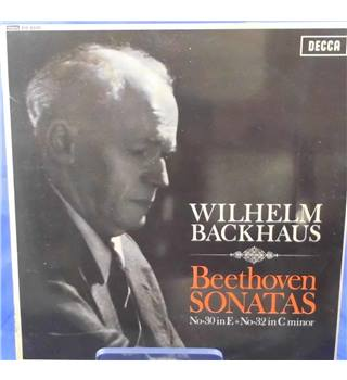Beethoven: Piano Sonatas No. 30 & 32 - Wilhelm Backhaus - BR 8500