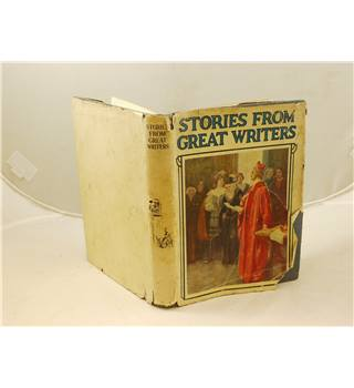 Stories from Great Writers Humphrey Milford & OUP c1930 with d/j colour illus The Children's Dickens, Shakespeare & Tennyson