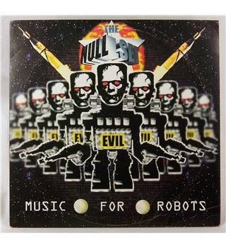 "The Null Set ‎– Music For Robots- Label Alpha Relish -10"" Album ."