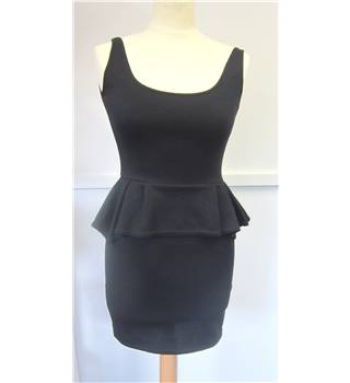 Miso black tight-fitted dress- size 8 miso - Size: 8 - Black