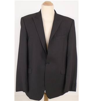 Ben Sherman L Subtle Black Striped Blazer