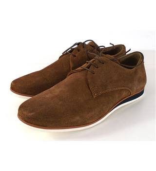 Asos Size 5 Tan Derby Suede Shoes