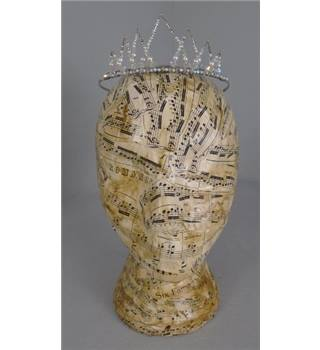 Silver Metal Detailed Princess Tiara