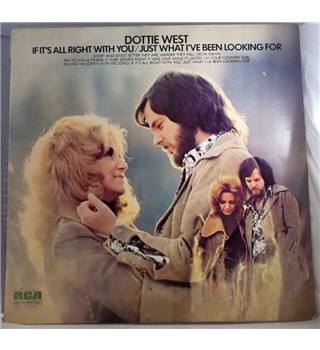 """If Its All Right With You"" LP by Dottie West - LSA 3189"