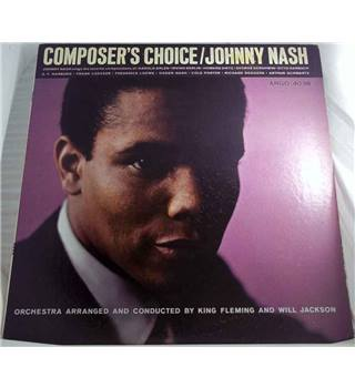 """Composers Choice"" LP by Johnny Nash - Argo LP-4038"