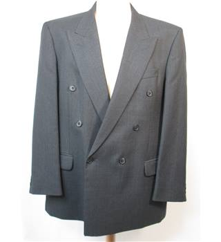 Marks & Spencer Charcoal Grey Double breasted suit. 44  chest