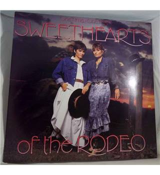 """One Time, One Night"" LP by Sweethearts Of The Rodeo - CBS 460779 1"