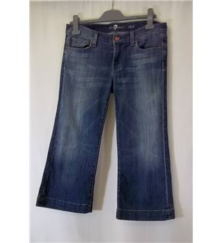"For All 7 Mankind - Size: 14"" - Blue - Cropped jeans"