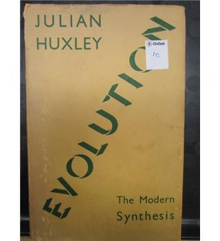 Evolution, The Modern Synthesis, by Professor Julian Huxley, 1944 edition,