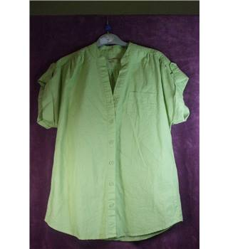 Tu ladies size 10 blouse TU - Size: 10 - Green - Blouse