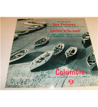 Elgar Sea Pictures and In the South LSO George Weldon Gladys Ripley LP Columbia 33 SX1028. Disc NM Sleeve vgc. Rare