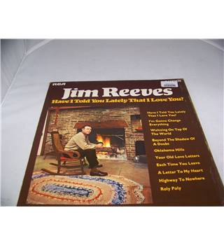 have i told you lately that i love you jim reeves - cdm 1049