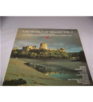 The World of Wales Volume 2 A Nation Sings - spa 214