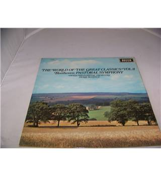 The World of The Great Classics Volume 11 - Beethoven Symphony No 6 Vienna Philharmonic Orchestra -  spa 113