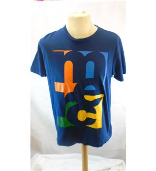 MENS MERC LARGE T-SHIRT Merc - Size: L - Blue - Short sleeved T-shirt