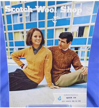 Scotch Wool Shop 126 Ladies and Men's Cable Sweater