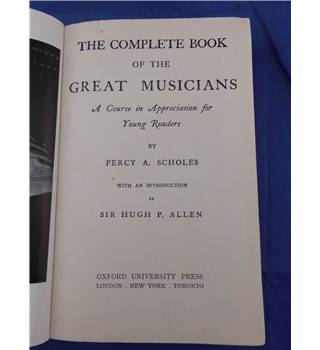 The Complete Book of the Great Musicians