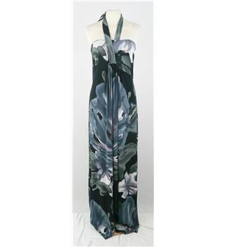 Monty Q - Size: 4 - Black - Maxi-Dress