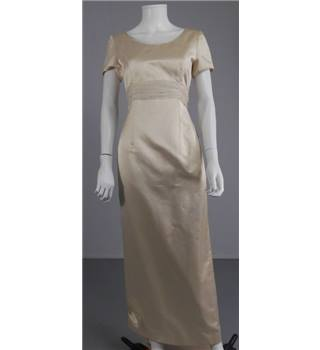 Caroline Parkes Gold Size 12 Wedding Dress