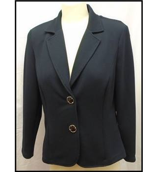 Frank Walder - Size: 12 - Blue - Smart jacket / coat