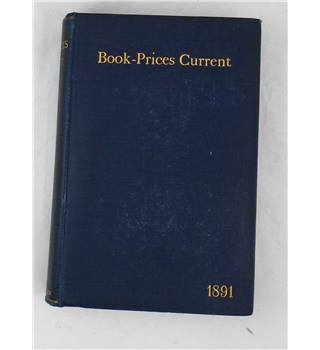 Book-Prices Current 1891