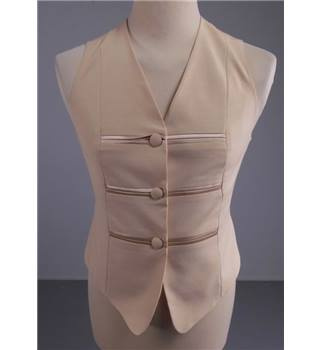 Choice by Steilmann Size: M Cream Waistcoat
