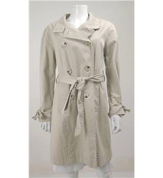 David Barry Size 14 Beige Trench Coat