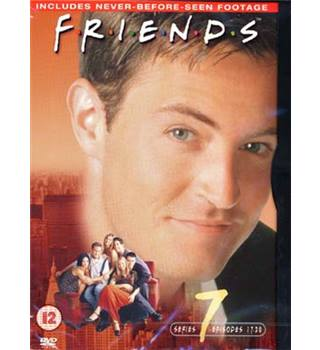 FRIENDS FRIENDS SERIES 7 - EPISODES 17-20 (PLUS DIRECTOR'S CUT) 12