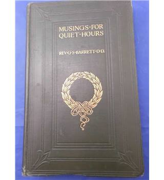 Musings for Quiet Hours