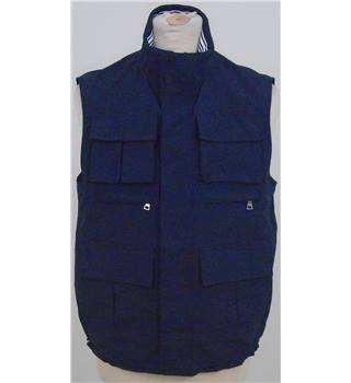NWOT M&S Blue Harbour size: S navy blue gilet