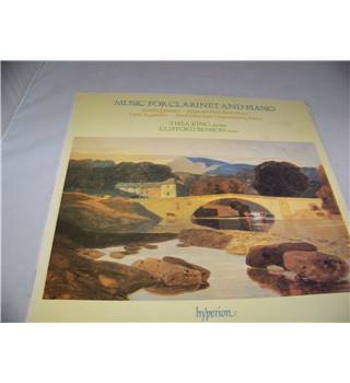 Music for Clarinet and Piano Thea King and Clifford Benson - a66014