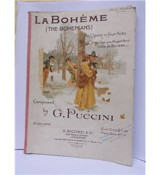 LA BOHEME (The Bohemians) by Puccini