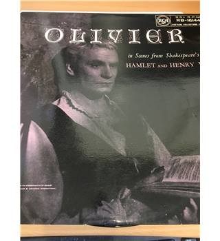 Laurence Olivier ‎– In Scenes From Shakespeare's Hamlet And Henry V Olivier - RB 16144