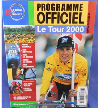 Le Tour de France 2000: Programme Officiel