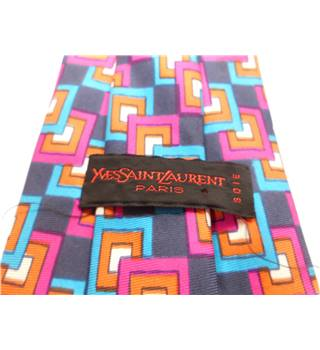 Yves Saint Laurent One size Multi-coloured Tie