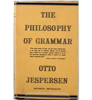 The Philosophy Of Grammar