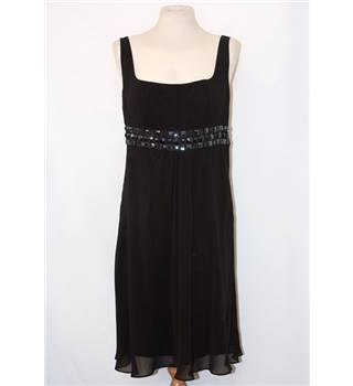 Debenhams Debut black prom dress