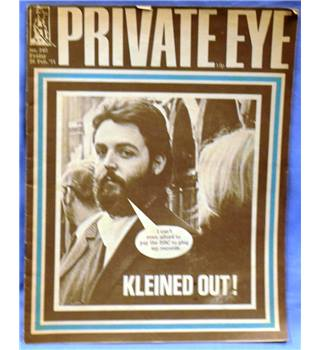 Vintage Private Eye. 1971. Issue 240. Kleined Out!