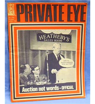 Vintage Private Eye. 1970. Issue 234. Auction Not Words - Official (Lot 34. British Railways. What am I bid?)