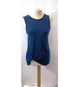 All Saints - Size: XS - Blue - Sleeveless top