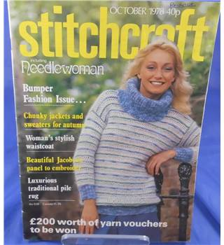 No. 538 Stitchcraft including Needle Woman  October 1978