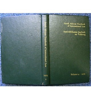 South African Yearbook of International Law, 1978