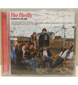 The Thrills -  So Much for the City (Signed copy)