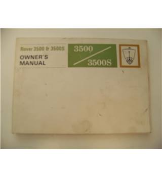 Rover 3500 & 3500S Owner's Manual